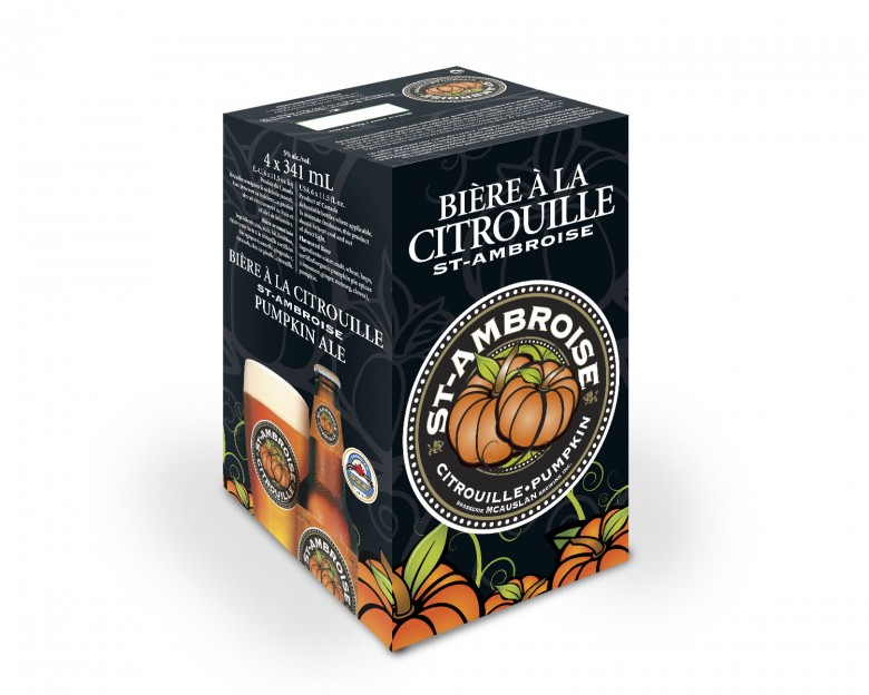 C'est l'automne! Notre bière à la Citrouille est de retour!