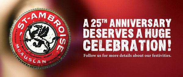 A 25th ANNIVERSARY deserves a huge celebration!