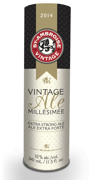 The 2014 St-Ambroise Vintage Ale is out!