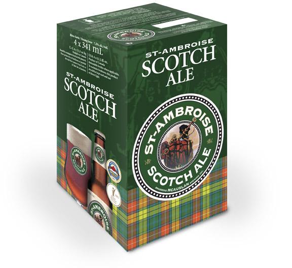 Notre St-Ambroise Scotch Ale est de retour