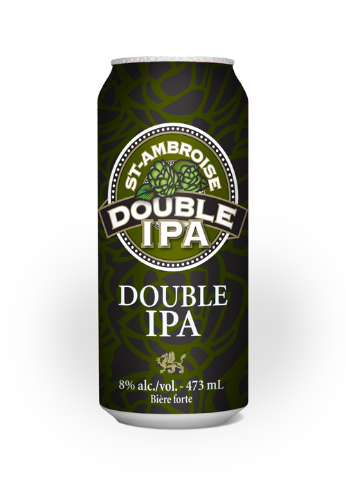 The St-Ambroise Double IPA is now available in can!