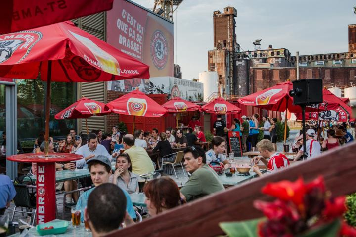 The Terrasse St-Ambroise is opening soon!