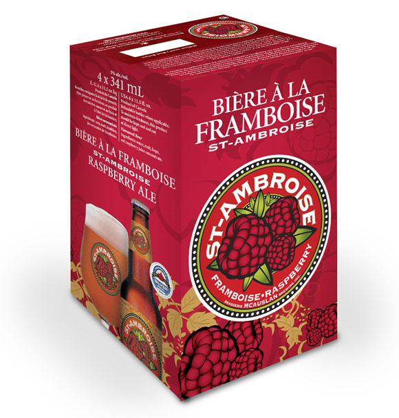 The St-Ambroise Raspberry is back!