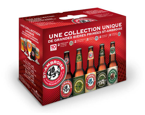 The special St-Ambroise Collection pack Is back!