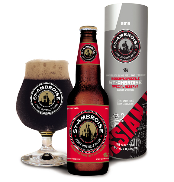 Our special reserve St-Ambroise Russian Imperial Stout 2015