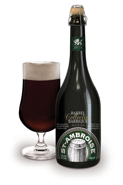 New in the St-Ambroise family! A Barrel Collection
