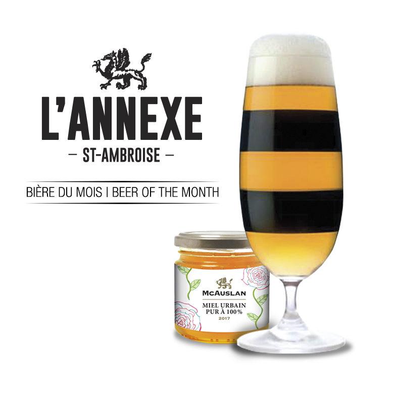 Bière du mois exclusive – l'Annexe St-Ambroise