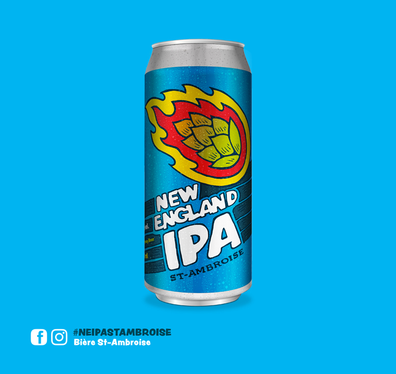 Lancement d'une New England IPA